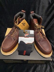 """Irish Setter by Red Wing Shoes ASHBY 6"""" Safety Toe Boots #83606 (NIB) Size 11"""