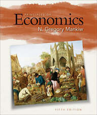 Principles of Economics by University N Gregory Mankiw (Hardback, 2008) 5th Ed