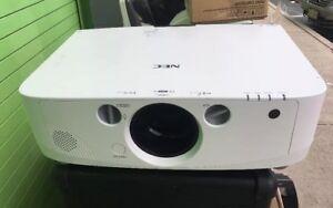 NEC NP-PA500U Full HD 1920x1200 WUXGA 1080p LCD Theater Projector - 5000 Lumens!