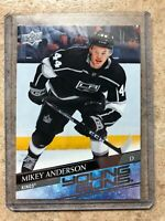 20-21 UD Upper Deck Series 1 Young Guns YG RC Rookie #233 MIKEY ANDERSON