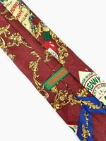 Men's Tabasco Bottle Neck Tie 100% Silk McIlhenny Co Multi Color
