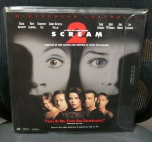 Laser Disc - Scream 2.