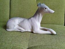 Charisma Whippet, Greyhound,  Lurcher Vintage Dog Ornament Statue. Ceramic