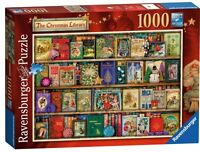 RAVENSBURGER PUZZLE*1000 T*THE CHRISTMAS LIBRARY*AIMEE STEWART*WEIHNACHTEN*OVP