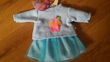 NEU fröhlicher Tüllrock mit Pullover von HELESS, für Puppen von 35 bis 45 cm