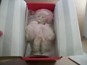"""New in Box Marie Osmond Crystalline Fairy Tot 8"""" Doll with COA and Doll Necklace"""
