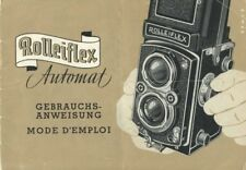 Rollei Rolleiflex Automat Instruction Manual 1951 (German, French)
