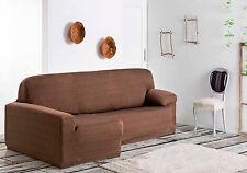 Funda elastica de sofa chaise longue Izquier derecha brazo corto / largo Aquiles