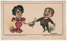 1906 F M HOWARTH Artist Signed PC Postcard NY SUNDAY AMERICAN JOURNAL Comic