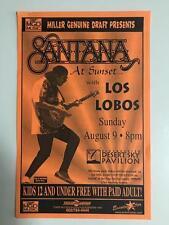 SANTANA~LOS LOBOS~NM- ORIG 1998 CONCERT FLYER HANDBILL~DESERT SKY PHOENIX AZ