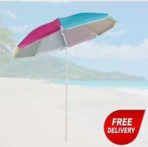 ✅+50 UPF UV Protectio Garden Beach Patio Tilting Umbrella Parasol Crivit Germany
