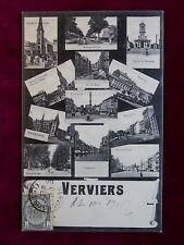 Carte Postale Belgique, Verviers / Velwisch, Mehrfachansicht, 1906 nach Ostende