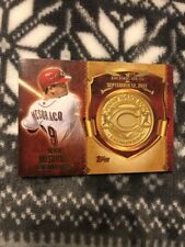 2015 Topps DEVIN MESORACO 1st Home Run Coin RETAIL Only Reds