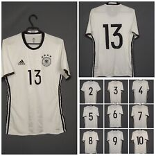 Germany authentic jersey 2016 HOME match issue White Mens Adidas Shirt Trikot