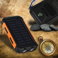 10000mAh WATERPROOF Solar USB Charger Pack: Any Mobile Devices & SmartPhones AU