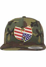 Mimetico regolabile Wu Wear Unisex American Cappello con Visiera Camo (tsd)