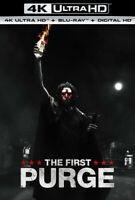 The First Purge [New 4K UHD Blu-ray] With Blu-Ray, 4K Mastering, Digit