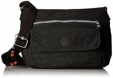Kipling Luggage Syro Hobo, Black, One Size - FREE Shipping USA Seller