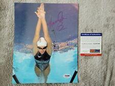 Amanda Beard PSA DNA Certified Autographed 8x10