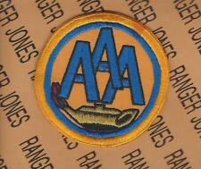 US Army AAA Anti Aircraft Artillery School dress uniform patch c/e
