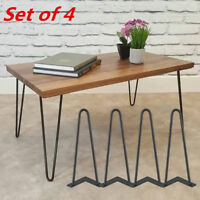 "8"" 12"" 16"" 28"" Hairpin Coffee Table Legs DIY Metal Set of 4 Home Furniture Parts"