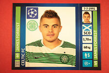 PANINI CHAMPIONS LEAGUE 2013/14 N. 604 FORREST CELTIC BLACK BACK MINT!