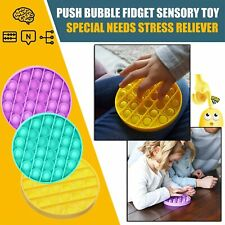 HOT!! 2020 Push Bubble Fidget Sensory Toy Special Needs Stress Reliever UK