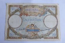 50 Francs LUC OLIVIER MERSON 14/11/1929