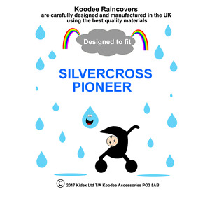 RAINCOVER Koodee designed to fit SILVERCROSS PIONEER SEAT UNIT Made in UK BNIP