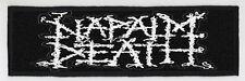 NAPALM DEATH SUPERSTRIP PATCH / SPEED-THRASH-BLACK-DEATH METAL