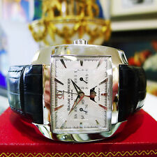 Mens Baume & Mercier Hampton Spirit XL Moon Phase Automatic Chrono Steel Watch