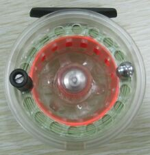 Free Shipping Aventik 4/6 Super Large Arbor Transparent Fly Reel NEW