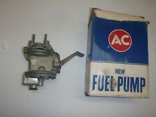 NOS Original AC Fuel & Vacuum Pump 55 56 57 Pontiac V8 1955 1956 1957 # 4123 NEW
