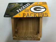 Green Bay Packers License Plate Bird Feeder