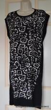 All Saints Alna Felix Dress Silk/Wool/Cotton Size S BNWT in Black £148