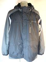 Free Country Jacket Coat Parka Gray Mens XXL Zip Up