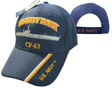 U.S. Navy USS Kitty Hawk CV-63 Battleship Embroidered Cap Hat 550L