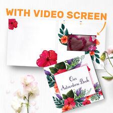 "Anniversary Video Album Wedding Photo Album Our Adventure Book - 4.3"" LCD 00037"