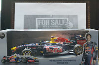 Minichamps Red Bull S Vettel 2012 1 18 Scale Renault - F1 Showcar Memorabilia