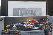 Minichamps Red Bull S Vettel 2012 1 18 scale RENAULT-F1 Car Memorabilia