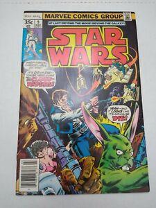 Star Wars #9 (Marvel 1978) VF Newsstand 1st App. Cloud Riders Comic