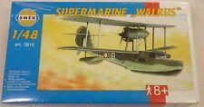 Smer 1/48 Supermarine Walrus Float Plane New Sealed Model Kit 815