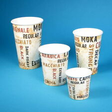 "1000 Espresso Coffee to go Becher Kaffeebecher 100ml 4oz 0,1l Motiv ""Barista"""