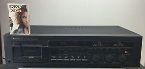 Nakamichi 582 Discrete 3 Head Cassette Deck Stereo Dolby NR Mpx Vintage Working