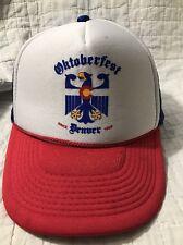 Oktoberfest Denver Colorado Mesh SnapBack Trucker Hat Baseball Cap