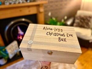 Personalised Christmas  Eve Box   Xmas Eve   Personalised As Required