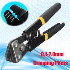 0.1-2.0mm Crimpatrice Pinze da pesca Filo Per Connettore terminale End Puntali
