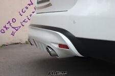 Infiniti fx35 fx37 fx50 qx70 fx30d s51 icon rear diffuser spoiler & stop lamp