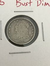 1835 Capped Bust Dime Nice Coin Problem Free