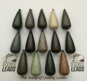 10 x Heli Carp Leads Smooth/Textured All Sizes Available